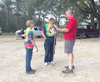 Reuniting with John and Patsy at the Jesus River Festival